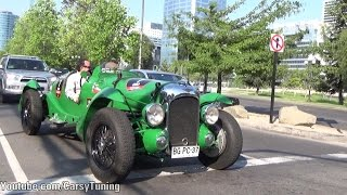 1939 Lagonda Le Mans V12 - Fast Fly By, Acceleration