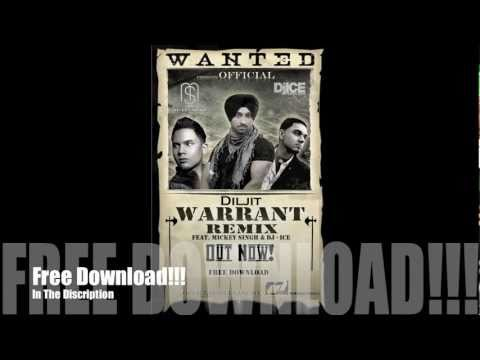 Diljit - Warrant Ft. Mickey Singh & Dj Ice (Official Remix)...