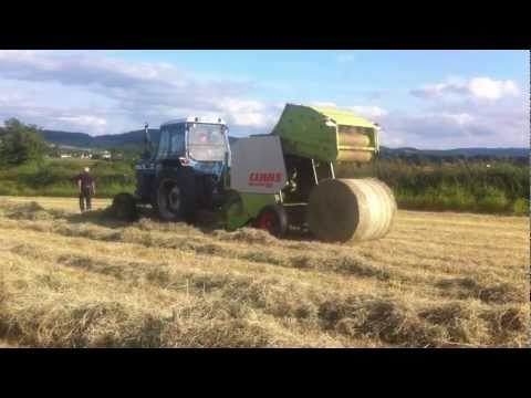Ford 7710 and Claas  46