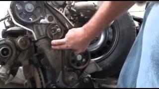 Timing belt replacement  Passat Audi a4 1.8 Turbo