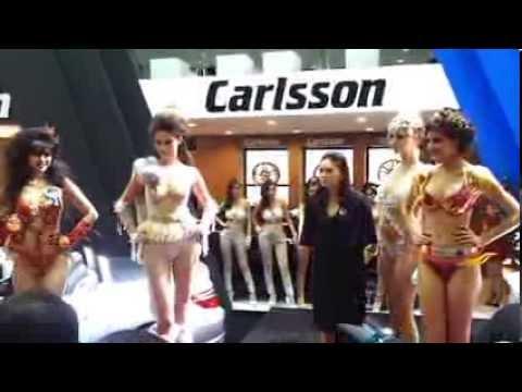 Bangkok Motor Show 2013 [ Sexy Bikini Carlsson ]