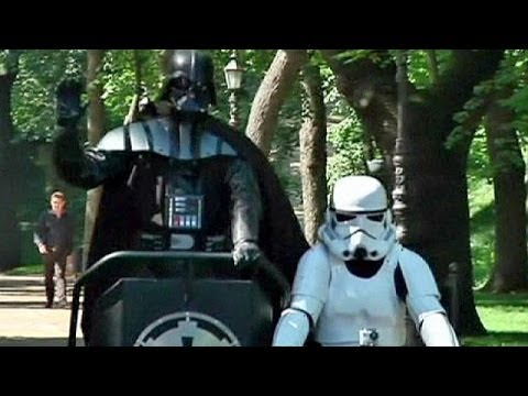 Darth Vader runs for mayor in Ukraine - no comment