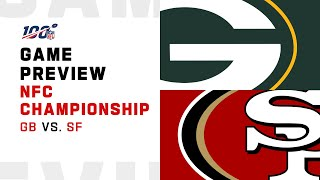 Green Bay Packers vs San Francisco 49ers NFC Championship Preview