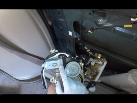 Honda Odyssey Sliding Door Latch Motor Repair