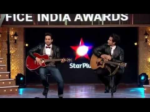 """Ali Zafar Live with Ayushmann Khurrana At """"Star Box Office India Awards 2014"""""""