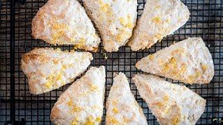 Lemon Buttermilk Scones