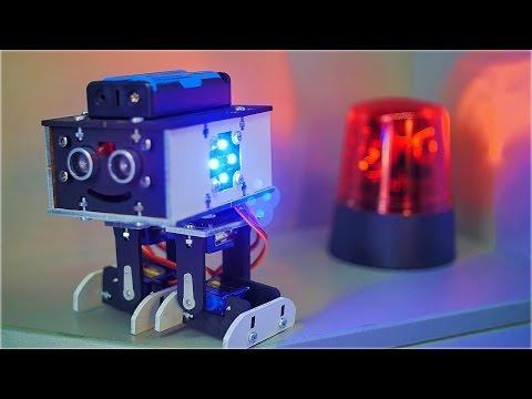 Как Сделать Робокопа - Робот Сигнализация Своими Руками
