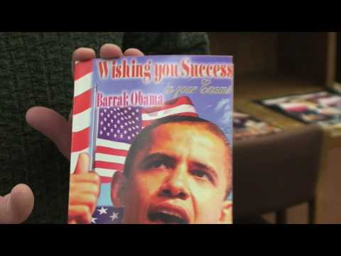 Library Exhibits African Response to Obama's Election