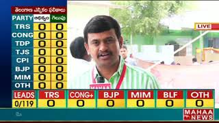 LIVE Updates from Telangana Election counting centers - BIG FIGHT  - netivaarthalu.com