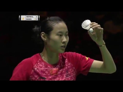 Swiss Open 2016 | Badminton SF M5-WS | Saina Nehwal vs Wang Yihan