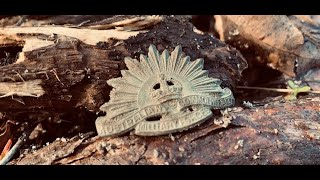 Very interesting finds from a newly found WW2 camp