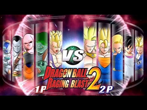 Dragon Ball Z Raging Blast 2 - Random Characters 2 (Live Commentary)