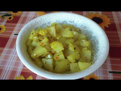 Как приготовить картофель в микроволновке - видео