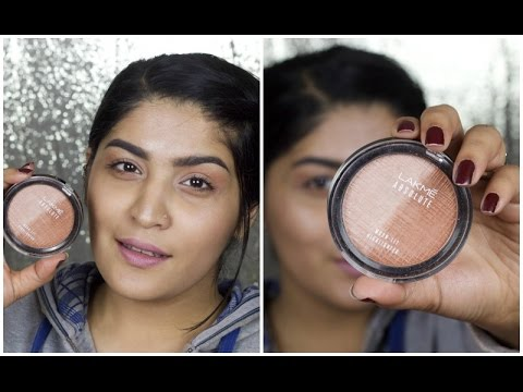 5 Clever Ways To Use A Highlighter   Lakme Moon Lit Highlighter   Lakme Illuminate Hamper Giveaway