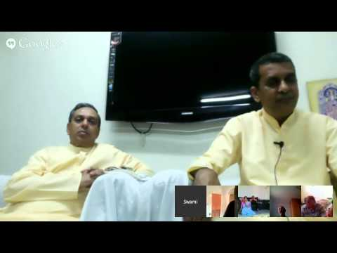 Apt Bharatanandji and Jaymeshanandji in Nigeria on 24-July-2014