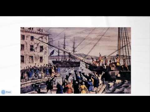 Boston Tea Party 1773 - 5 Minute History lesson - Quick Summary