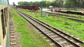 Kishorgonj Express (কিশোরগঞ্জ এক্সপ্রেস) Crossing Cantonment Railway Station