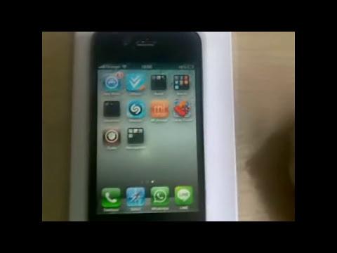 Como eliminar una aplicacion de Iphone 4, 4S o 5.