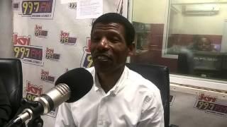 Ethiopian runner Haile Gebrselassie on Joy FM's SMS