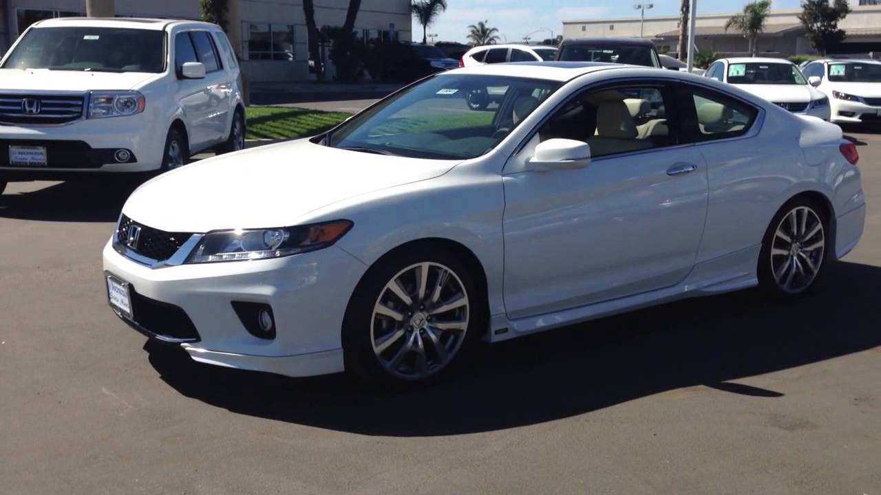 Honda Accord 2014 White Coupe 2016 Honda Accord 2014 White Coupe