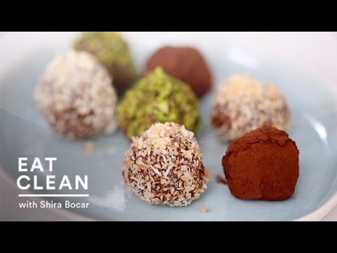 Dark Chocolate Coconut Oil Truffles - Eat Clea with Shira Bocar