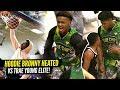 Bronny James 1st 360 DUNK!! Bronny Gets HEATED vs Trae... thumbnail