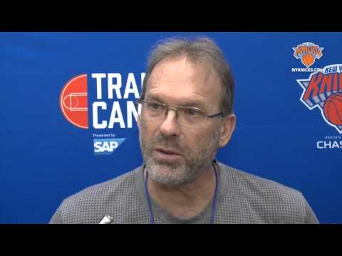 MON Training Camp: Rambis On Afflalo, Porzingis, and More