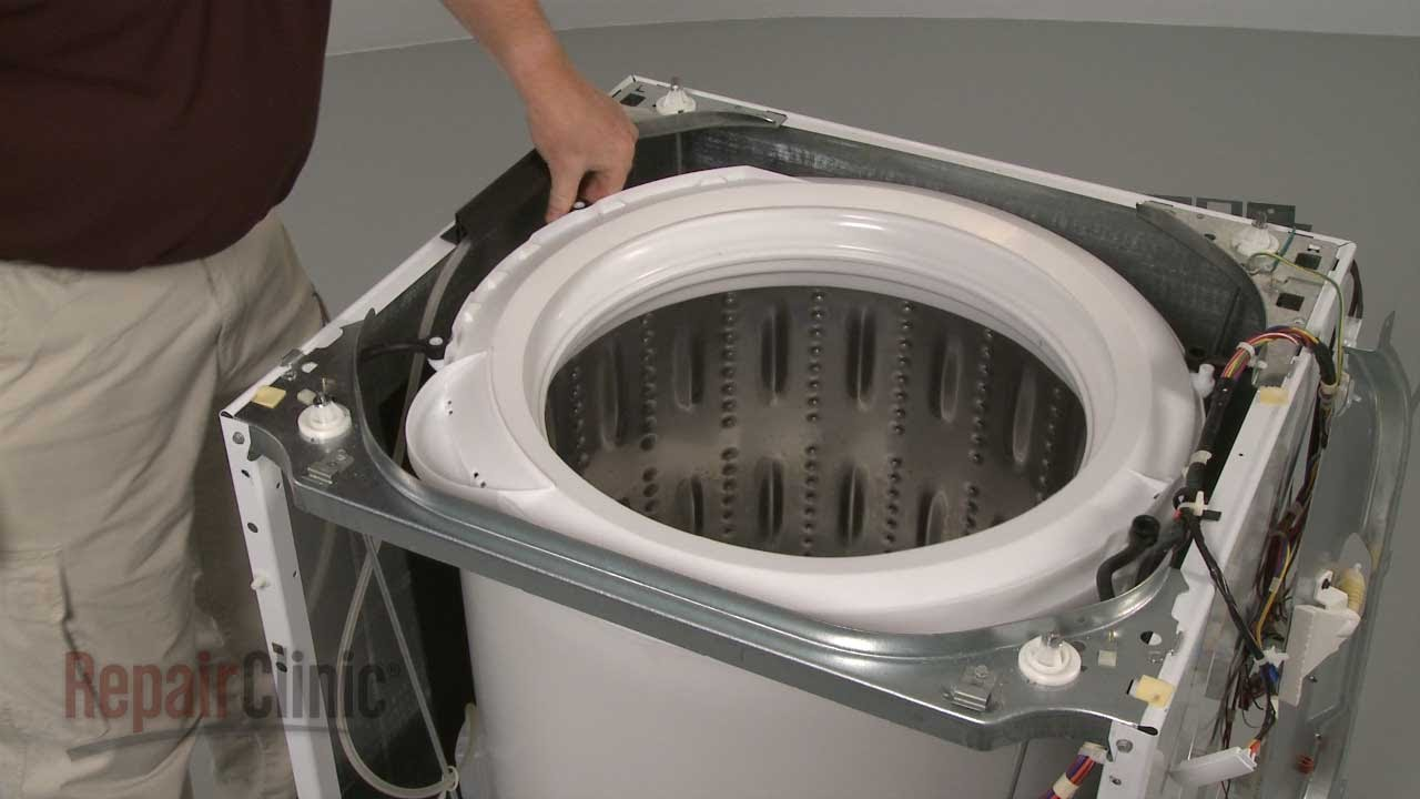 how to take a tub out of a washing machine