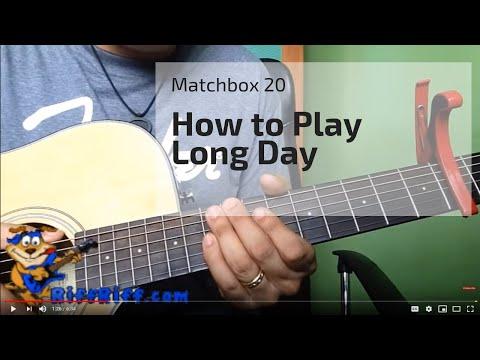 How to Play Longday by Matchbox Twenty 20