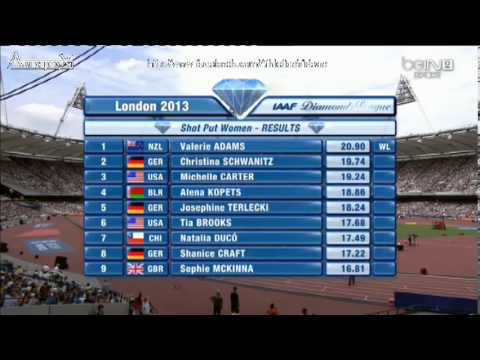 Valerie Adams London 2013 20.90m