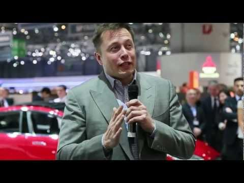 Tesla Motors, Elon Musk speech in Geneva motor show