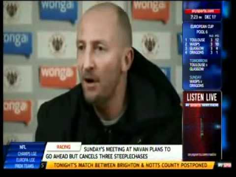 Ian Holloway's rant on Blatter, Platini and Winter World Cup