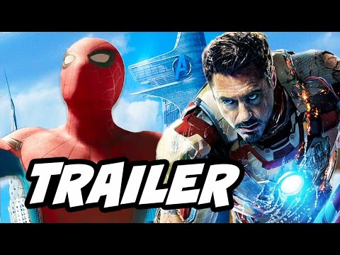 Spider Man Homecoming Trailer 2 Official Breakdown - New Iron Man Suit