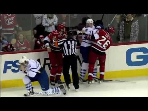 Nikolai Kulemin Vs Tim Gleason Jan 24, 2011 (video)