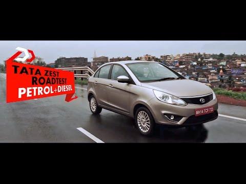 TATA Zest Roadtest Petrol + Diesel: PowerDrift