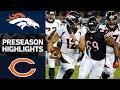 Broncos vs. Bears | NFL Preseason Week 1 Game Highlights MP3