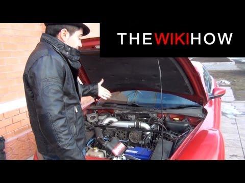 Mazda RX8 с двигателем от Приоры + компрессор на 1.5 бар