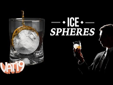 Sphere Ice Makes the Coolest Cocktails