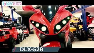 Xe mô mô điện trẻ em DLX-528 3 bánh cực ngầu    Baby Plaza