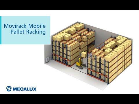 Movirack Pallet Racking, large-scale storage on mobile racking units | Mecalux Group