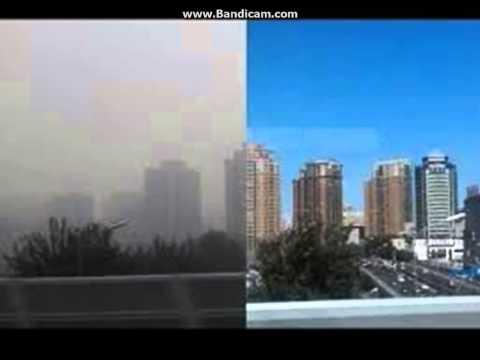 Pollution around the world