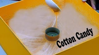 how to make a Cotton Candy Machine At Home || easy way