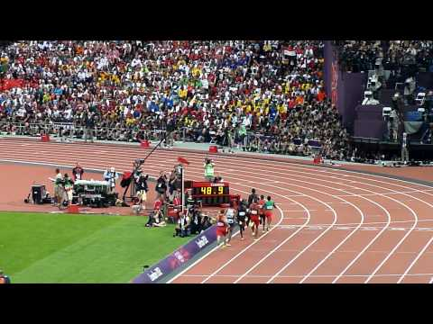 London 2012 - 800 m : David Rudisha 1'40