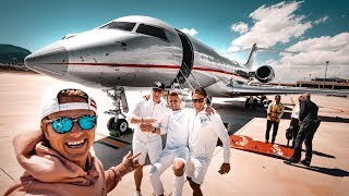 MY CRAZY BACHELOR PARTY! ($60 000 000 PRIVATE JET!!!) | VLOG³ 06
