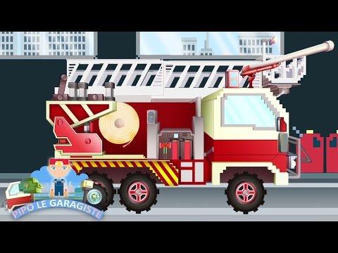 Pompier - Dessin anime pompier gratuit ...