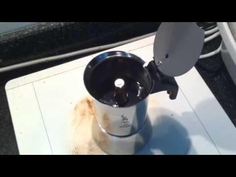 Moka Pot Crema Espresso With Crema From Moka