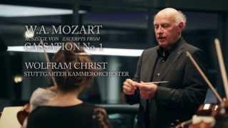 Wolfgang Amadeus Mozart Cassation Nr 1 G Dur Kv 63 Auszüge Excerpts