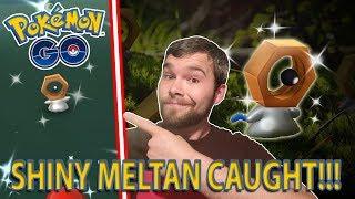 SHINY MELTAN CAUGHT IN POKEMON GO!