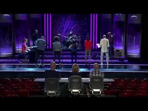 David, Amanda, Fanny, Saron Och Joakim I Gruppmomentet Av Idols Slutaudition - Idol Sverige (tv4) video