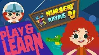 Play & Learn With Janet The Viking - KinToons Nursery Rhyme DJ   Kinsane Games